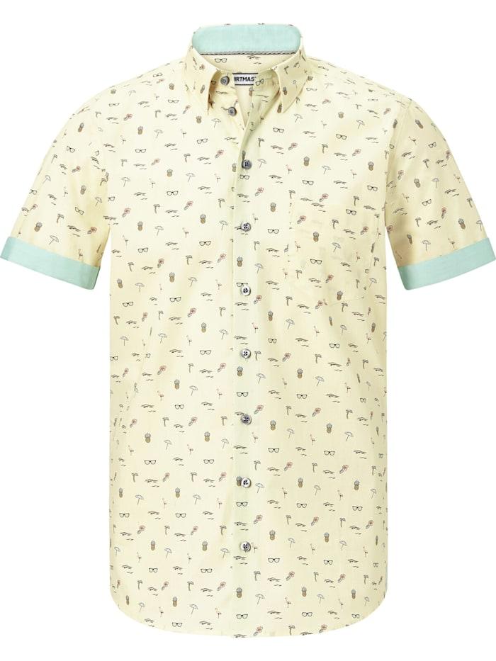 Shirtmaster Kurzarmhemd lifeonbeaches