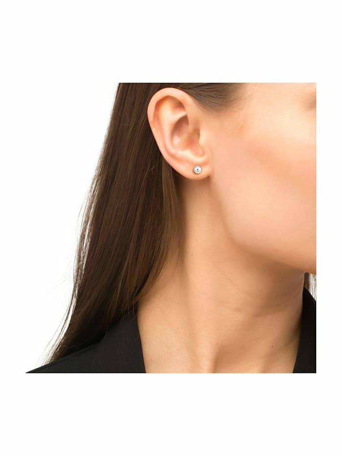 Ohrstecker für Damen, Sterling Silber 925