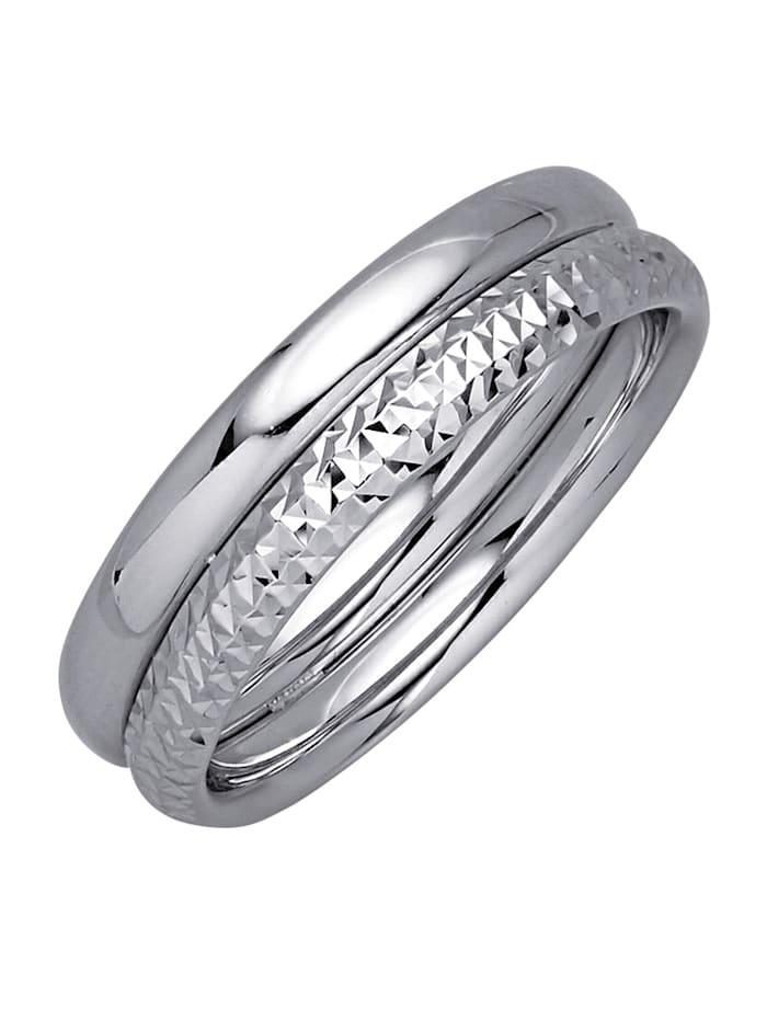 Diemer Gold Ring, Silverfärgad