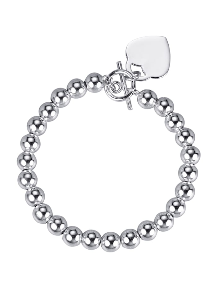 KLiNGEL Armband, Silberfarben