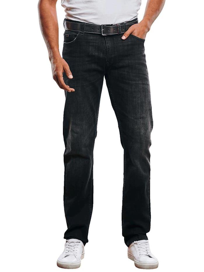 Engbers Jeans 5-Pocket Superstretch, Schwarz