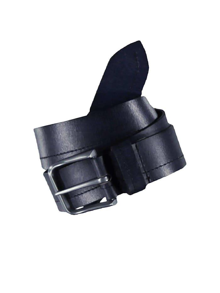 Engbers Ledergürtel, Marineblau
