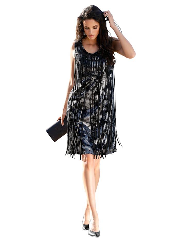 Kleid mit Deko-Bändern