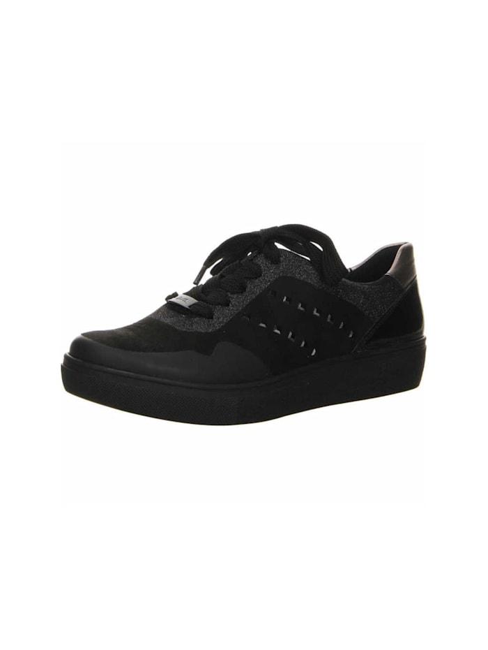 Ara Sneaker, schwarz