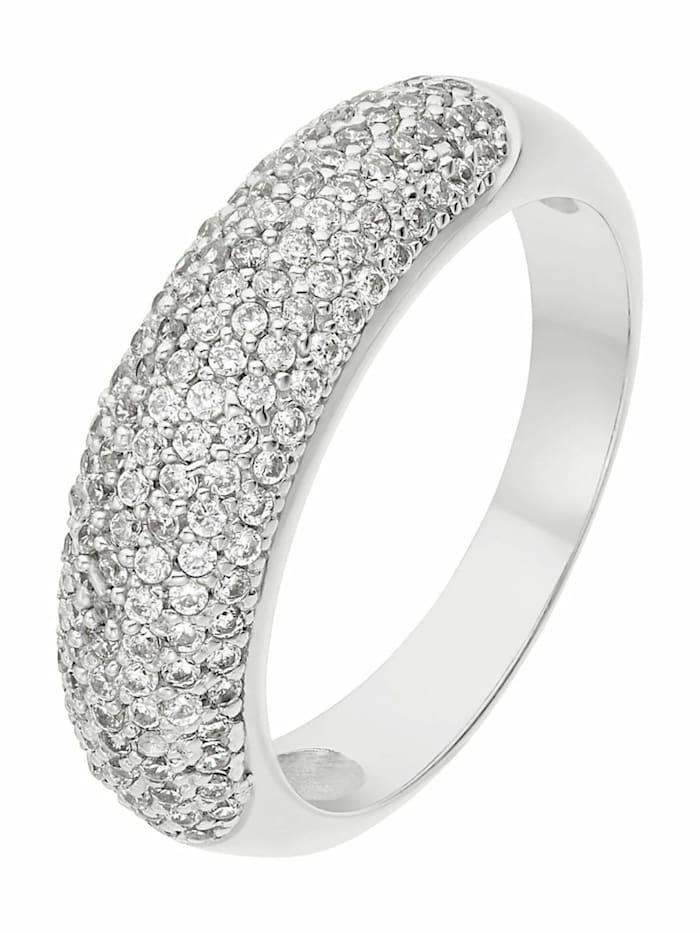 Noelani Ring für Damen, Sterling Silber 925, Zirkonia, Silber