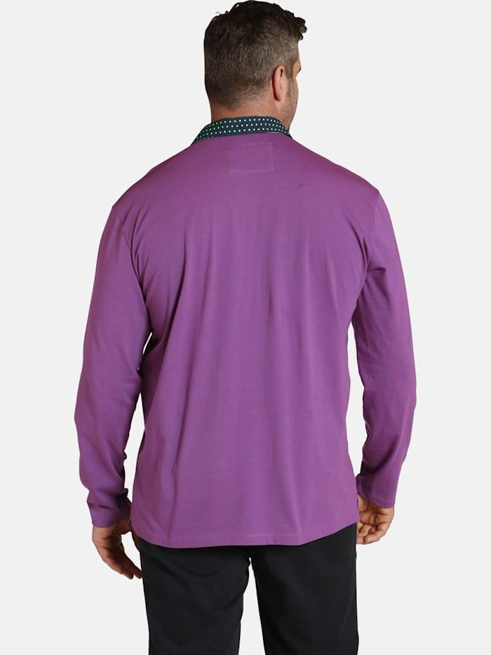 Langarm-Poloshirt EARL WYETT