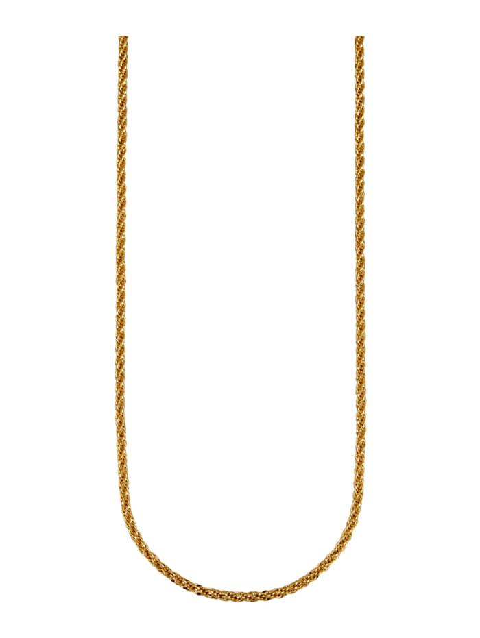 Diemer Gold Kierretty kaulaketju, Keltakullanvärinen
