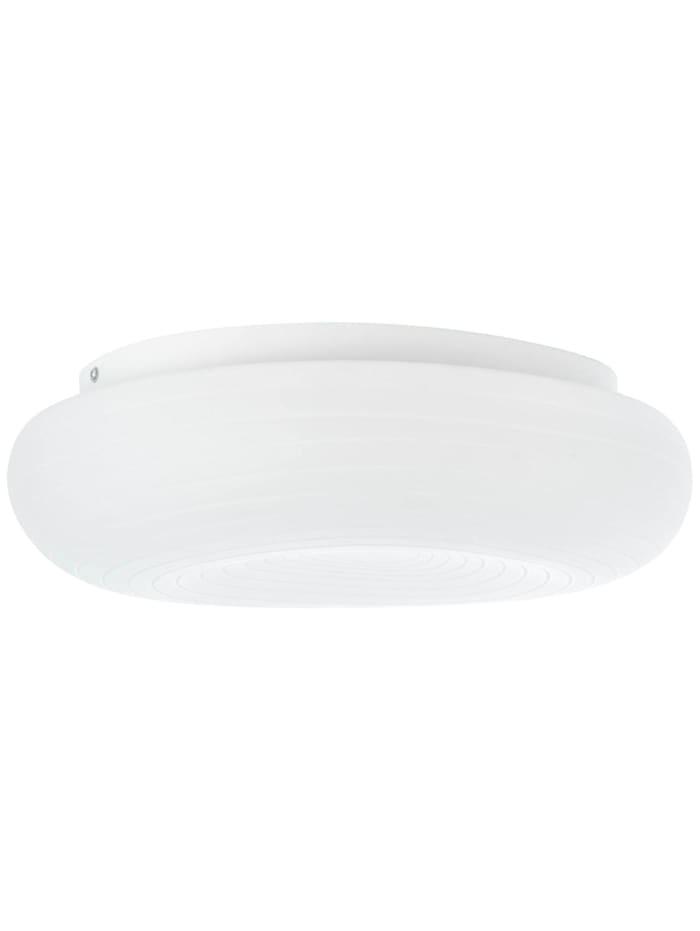 Pebbles LED Deckenleuchte 48x34cm weiß