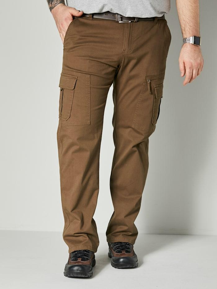 Men Plus Cargohose Spezialschnitt, Khaki