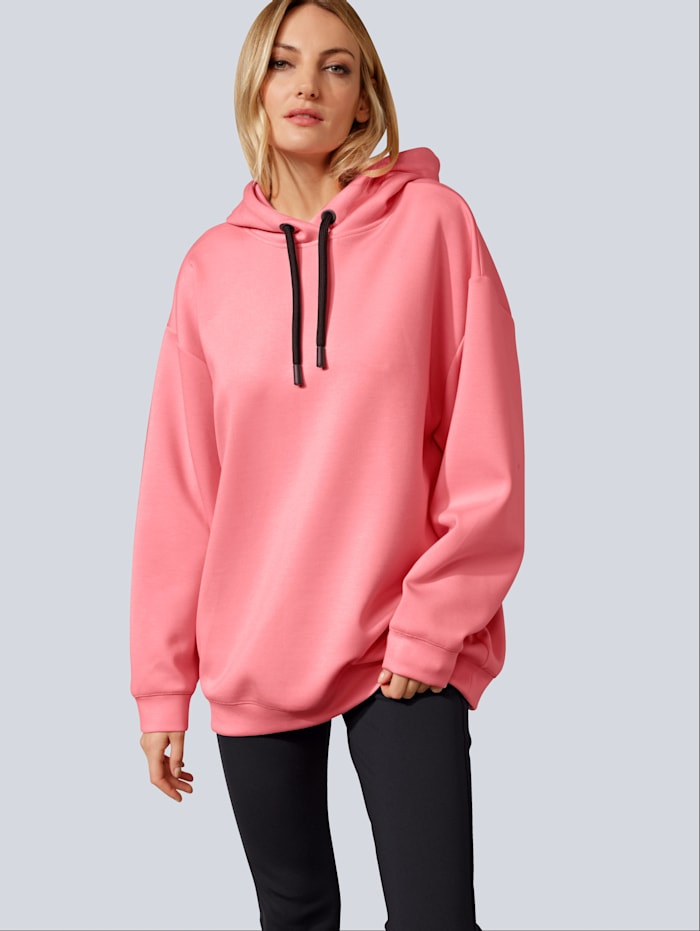 BRAX Sweatshirt aus Scubaware, Rosé