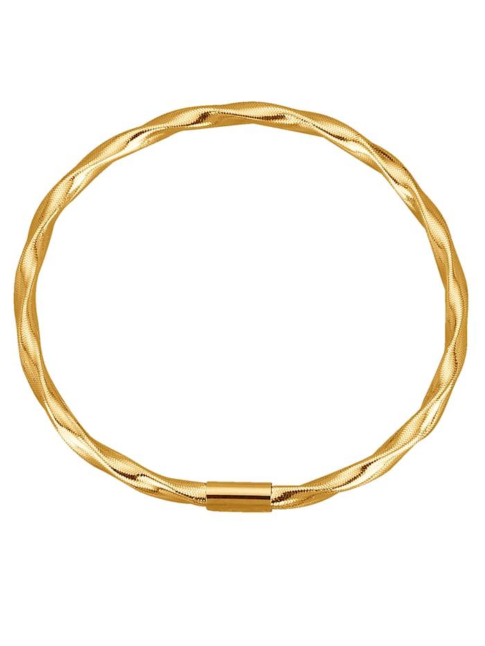 KLiNGEL Omega-Armreif in Gold 585, Gelb