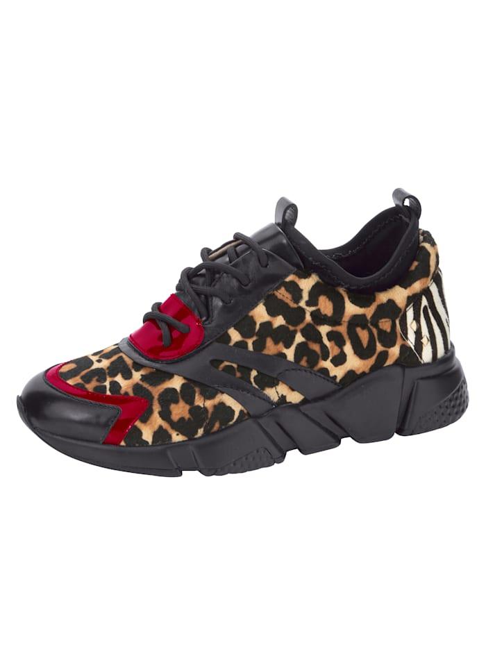 Tizian Sneaker in extravagante stijl, Zwart