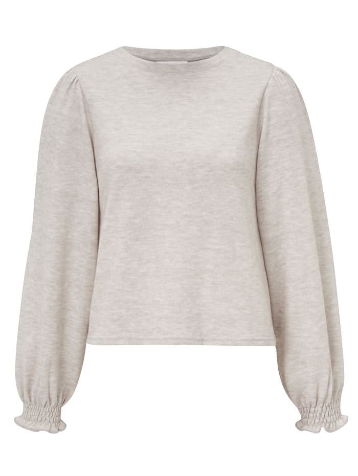 rich&royal Pullover, Beige