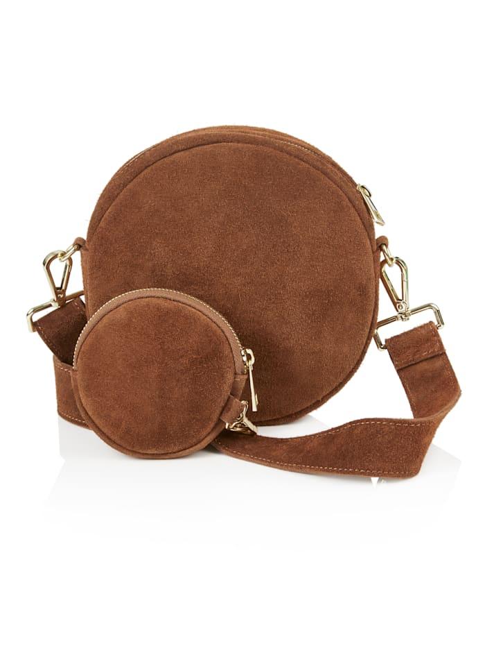 SIENNA Crossbody-Bag, Braun