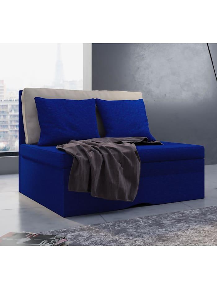 VCM Schlafsessel mit Schlaffunktion Zituna, Blau
