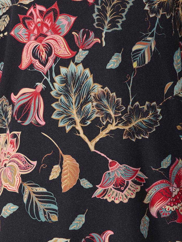 Jerseytunika mit floralem Muster