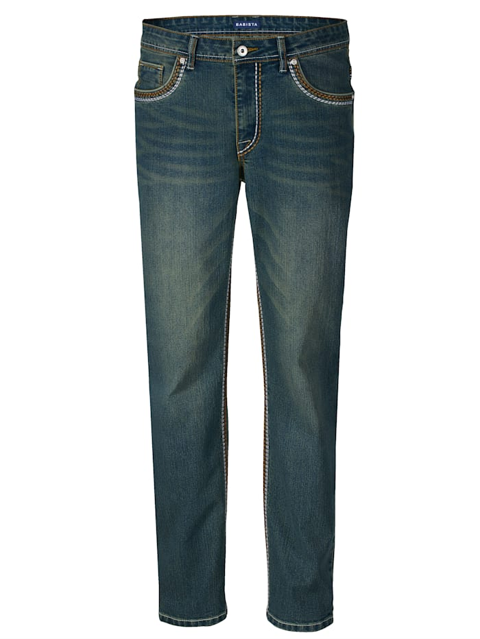 Jeans in moderner Used-Optik