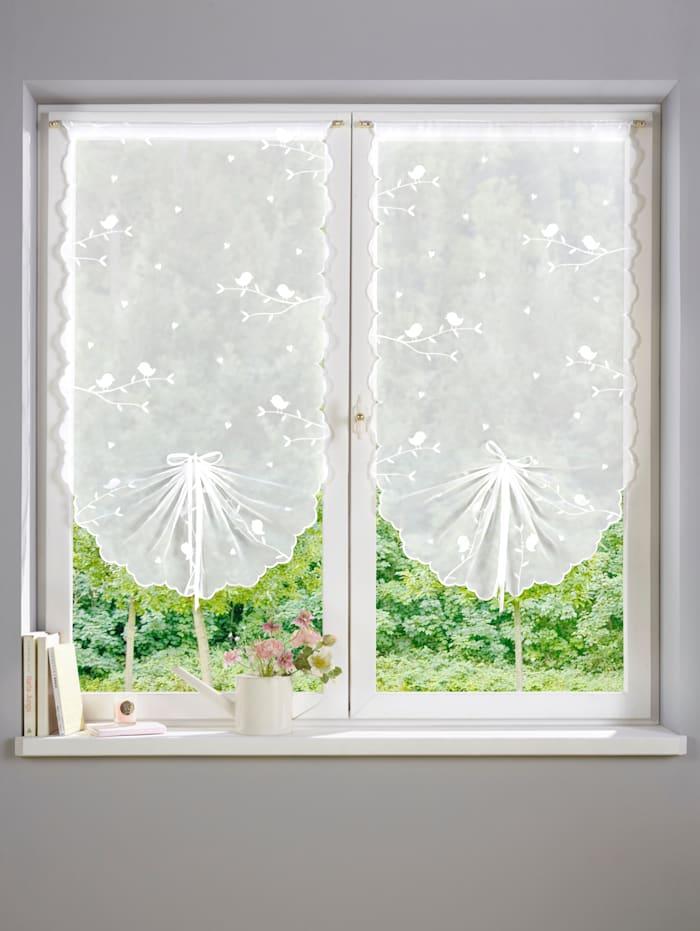 Korte gardiner i 2-pk