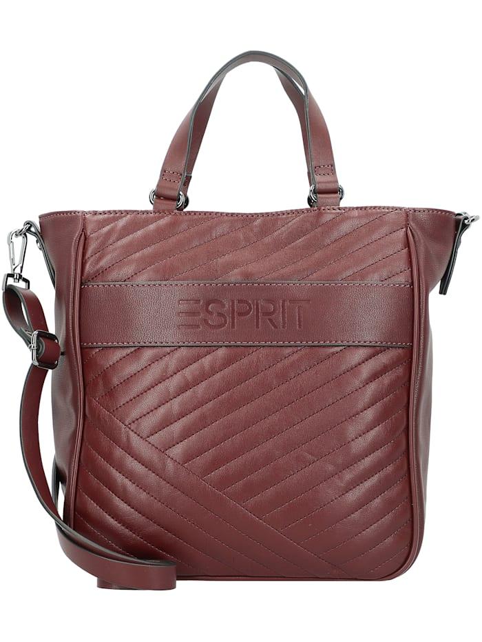 Esprit Susie Handtasche 27 cm, bordeaux red