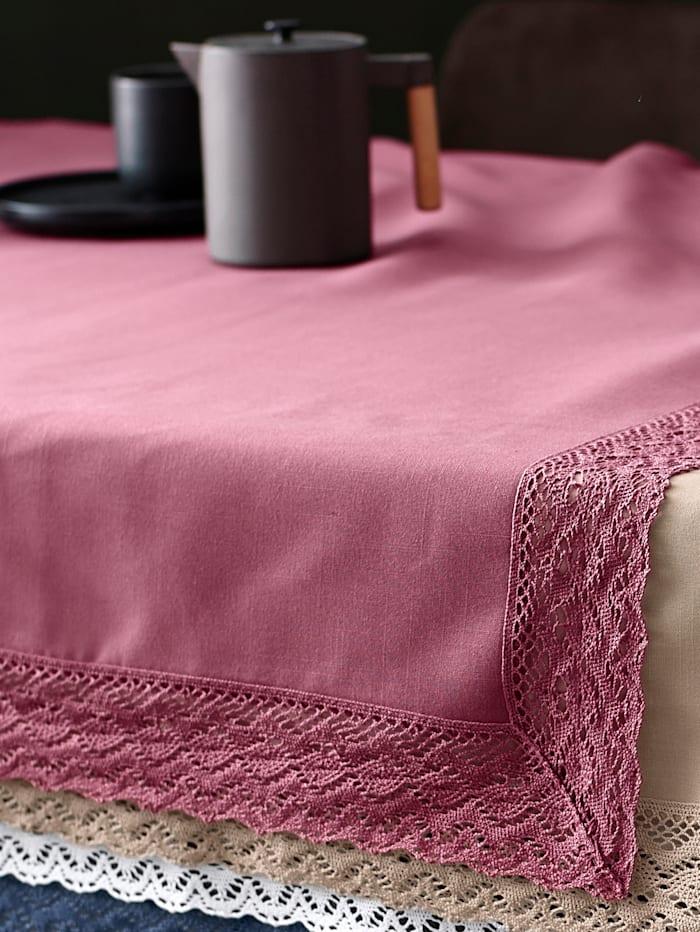 Webschatz Tischwäsche 'Janine', rot
