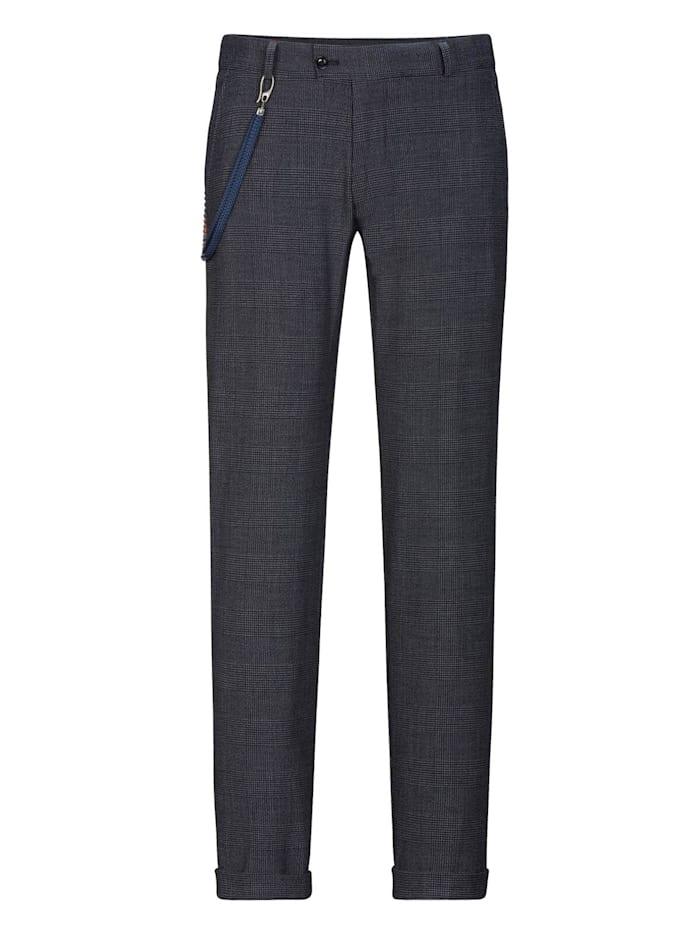 Club of Gents Hose CG Cameron mit elastischem Hosenbund, dunkelblau