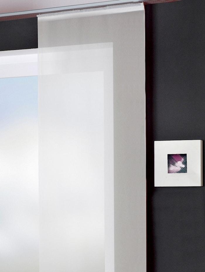 Home Wohnideen Panneau japonais 'ROM', Blanc