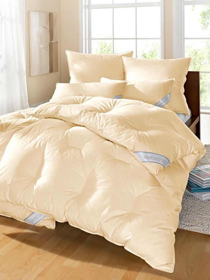 Webschatz 4-delige set bedlinnen, crème