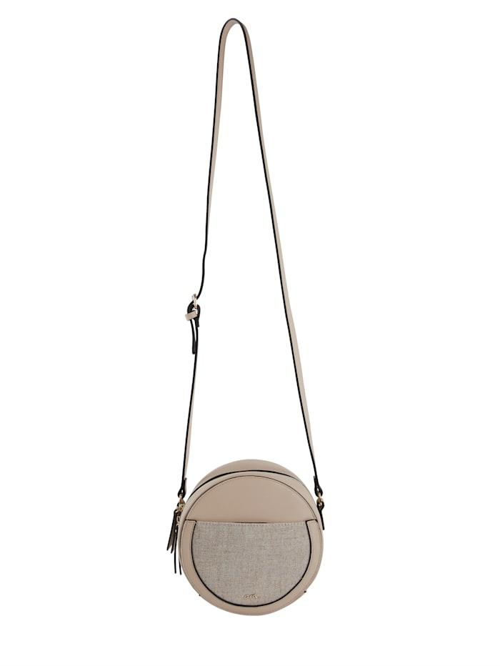 Ara Shoulder bag in a round design, Beige