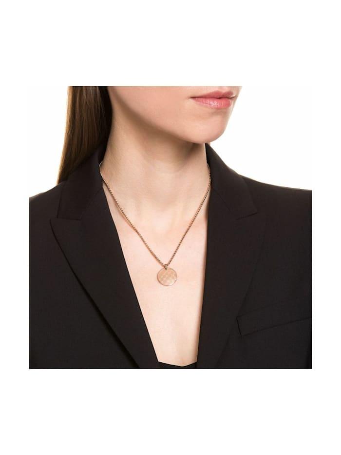 Kette mit Anhänger Stilvolle Damen Halskette der Marke JOOP! mit IP Rose Beschichtung
