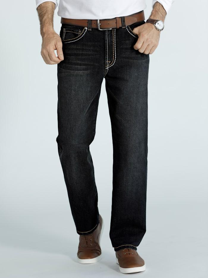 BABISTA Jeans mit dicken Nähten, Schwarz