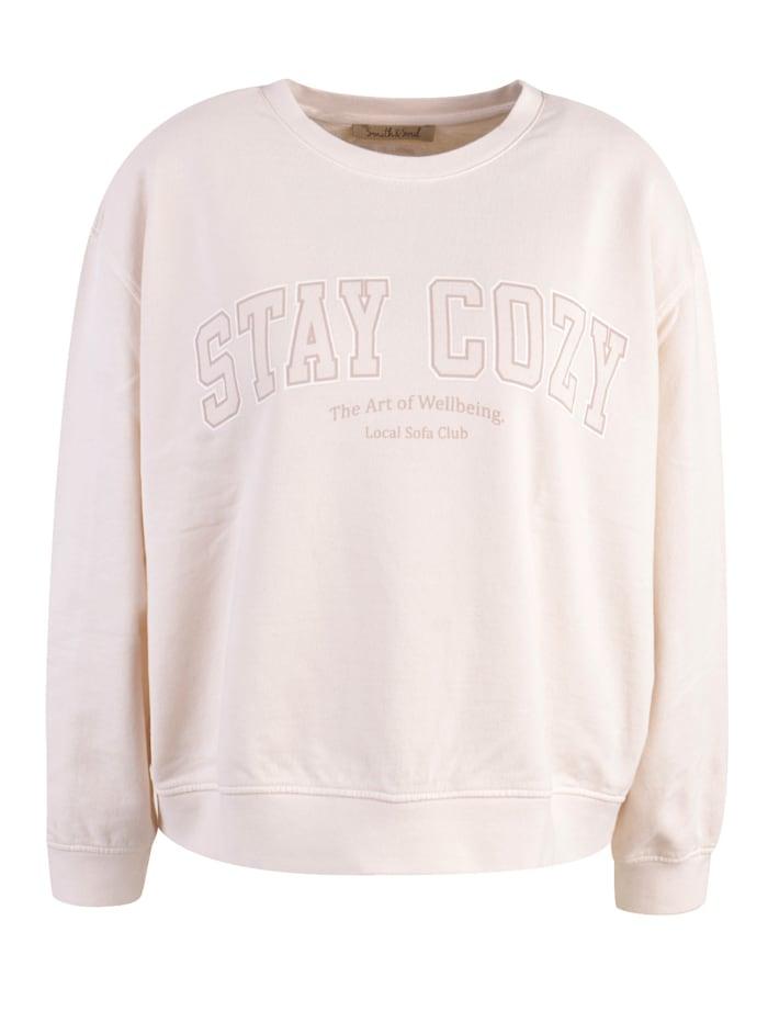 Smith & Soul Sweatshirt, Creme-Weiß