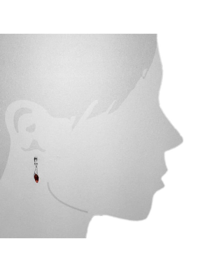 Ohrhänger - Malene - Silber 925/000 - Bernstein