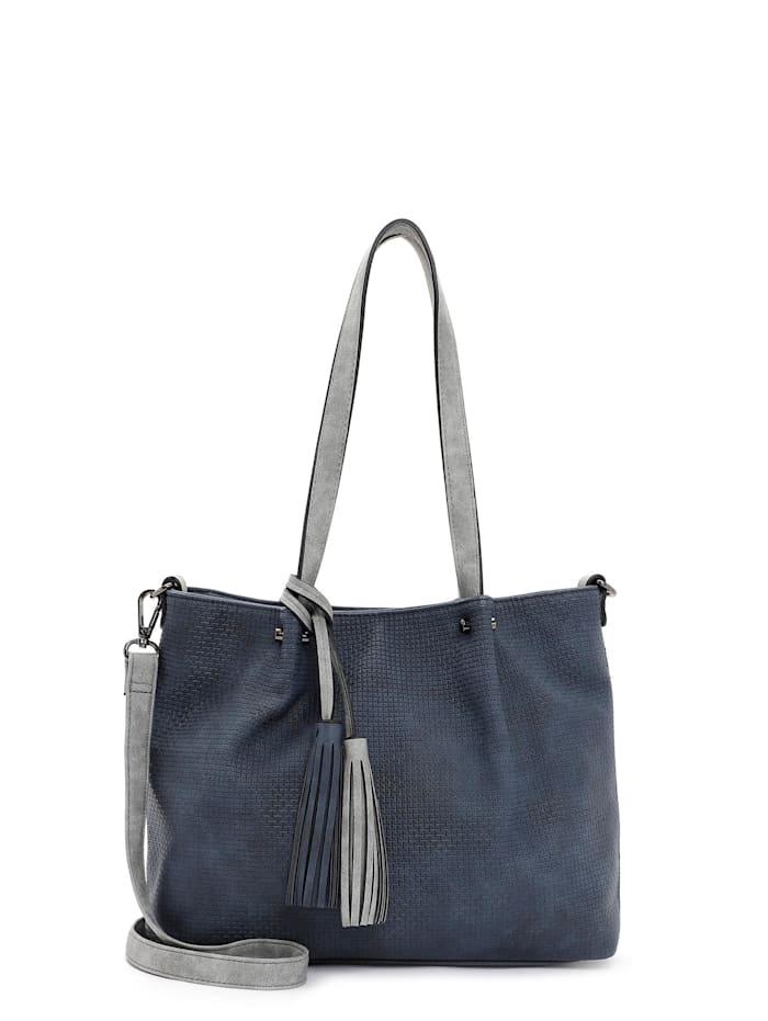 EMILY & NOAH EMILY & NOAH Shopper Bag in Bag Surprise EMILY & NOAH Shopper Bag in Bag Surprise, blue grey 508