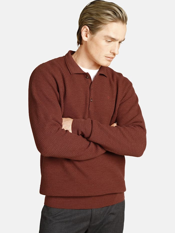 Charles Colby Charles Colby Pullover EARL CLAY, orange
