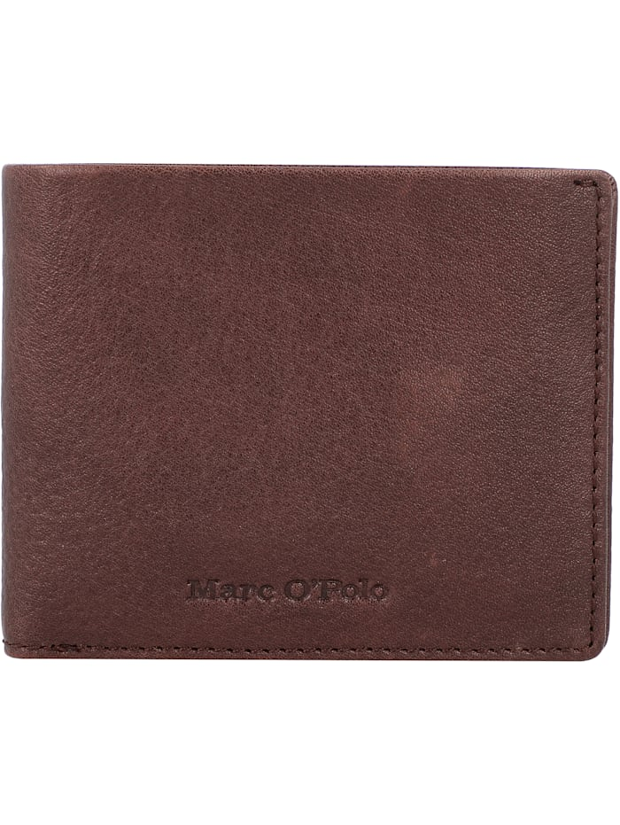 Marc O'Polo Colt Geldbörse Leder 10,5 cm, brown