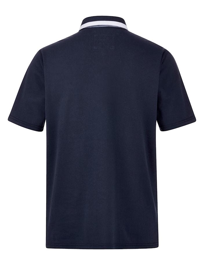 Poloshirt mit raffinierten Details
