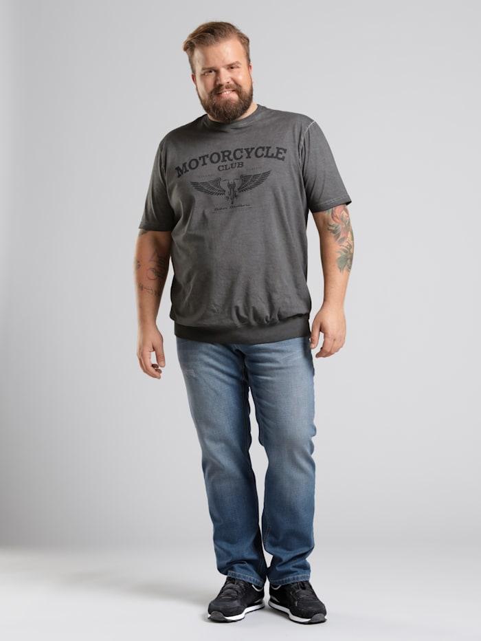 Men Plus Jeans met speciale pasvorm, Dark blue