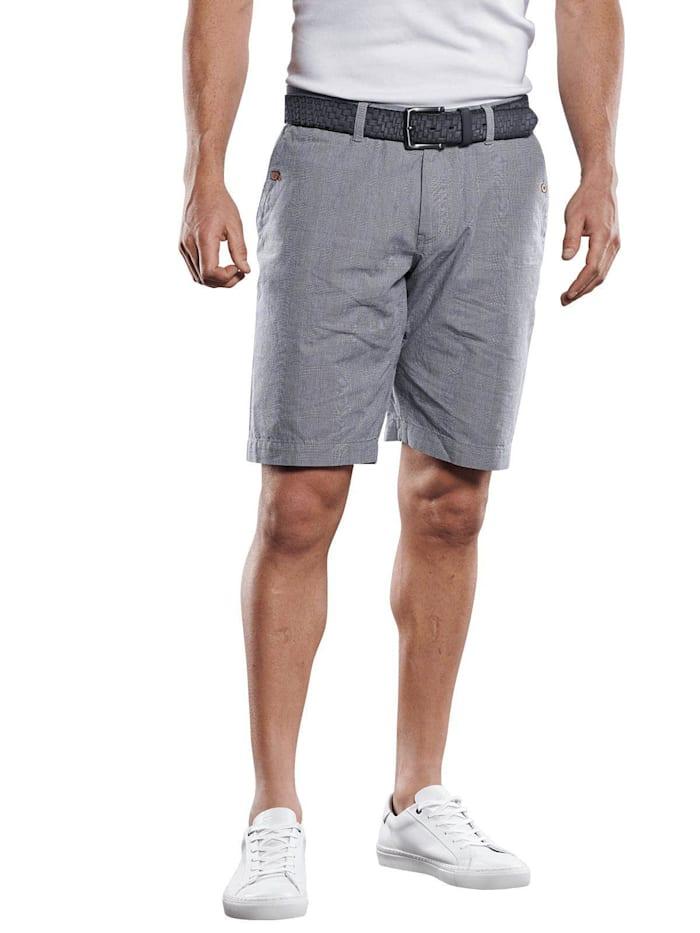 Engbers Stilvolle Shorts im Chino-Style, Taubenblau