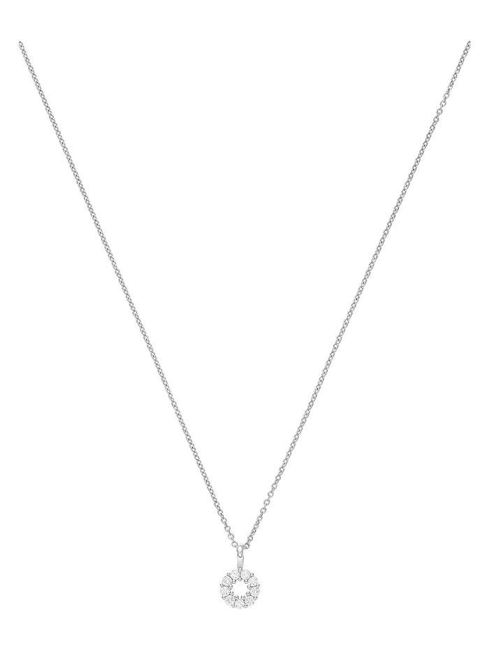 CHRIST Diamonds CHRIST Diamonds Damen-Kette 585er Weißgold 9 Diamant, weißgold