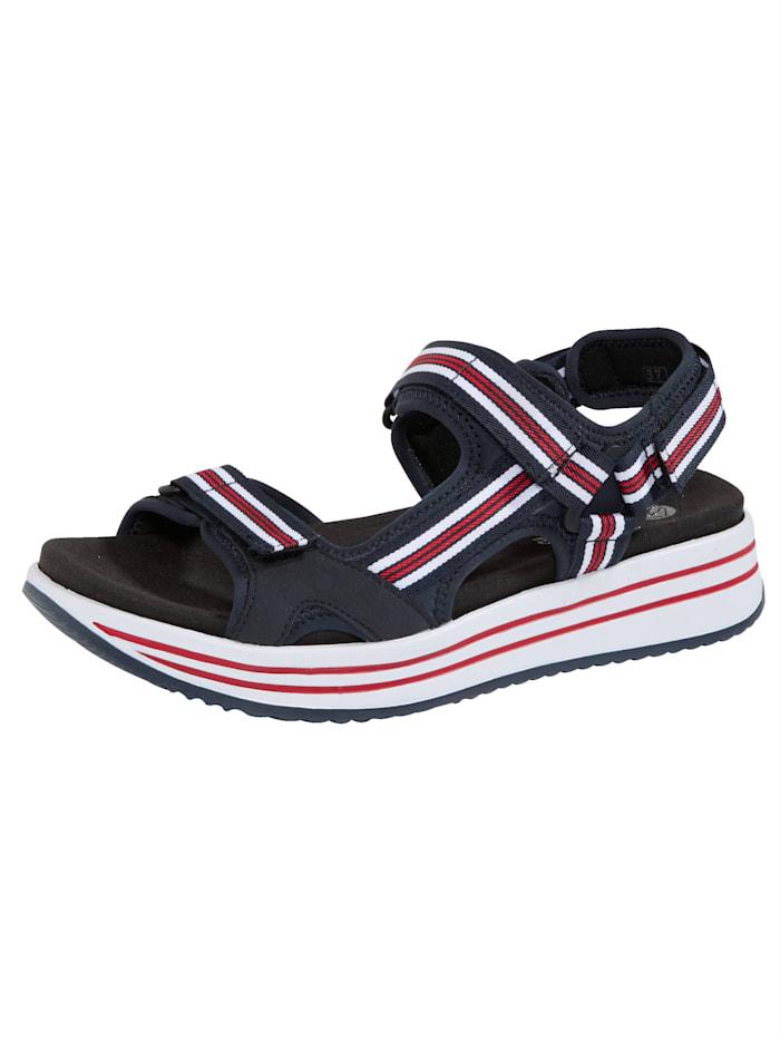 Remonte Sandaaltje met 2 paar voetbedden, Marine