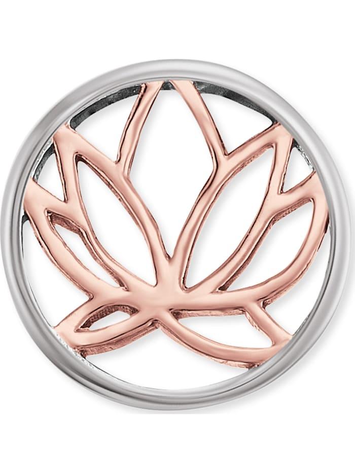 Engelsrufer Damen-Ohrstecker Lotus 925er Silber rhodiniert