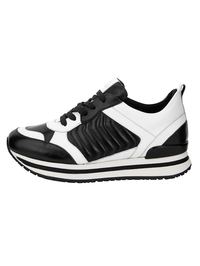 Sneaker van zacht nappaleer