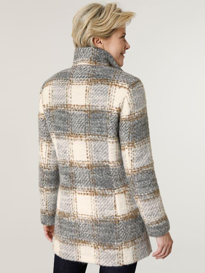 Wolljacke mit Schurwolle