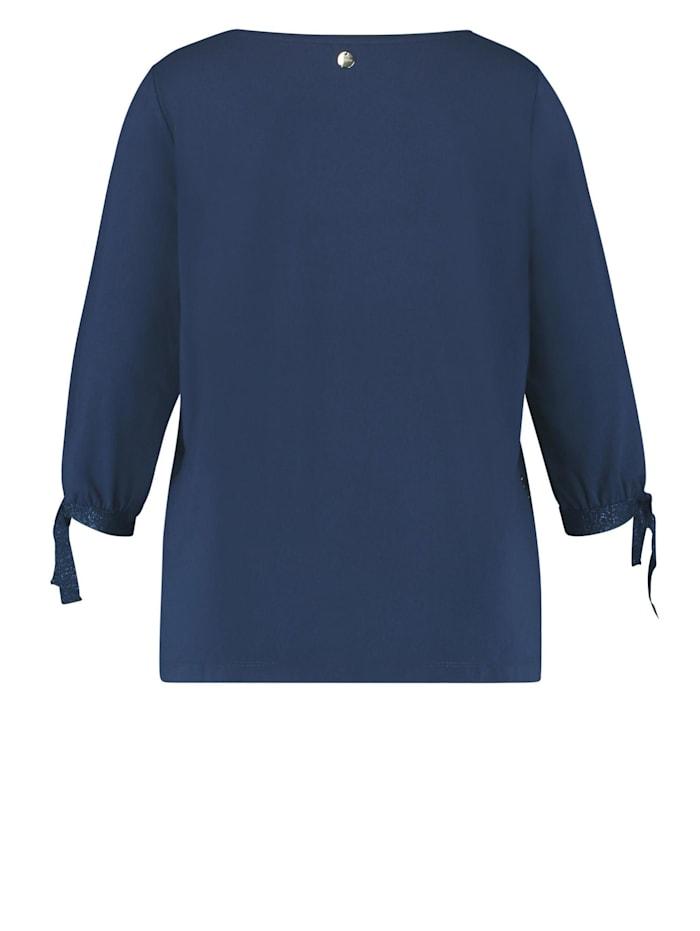 Blusenshirt mit Schleifenzier