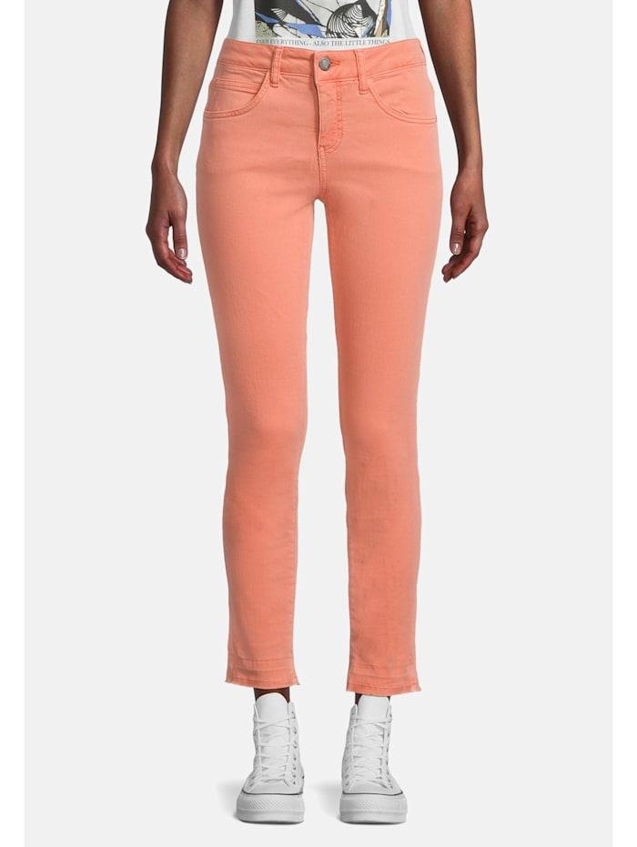 Cartoon Modern fit jeans Slim Fit Colored denim, Orange