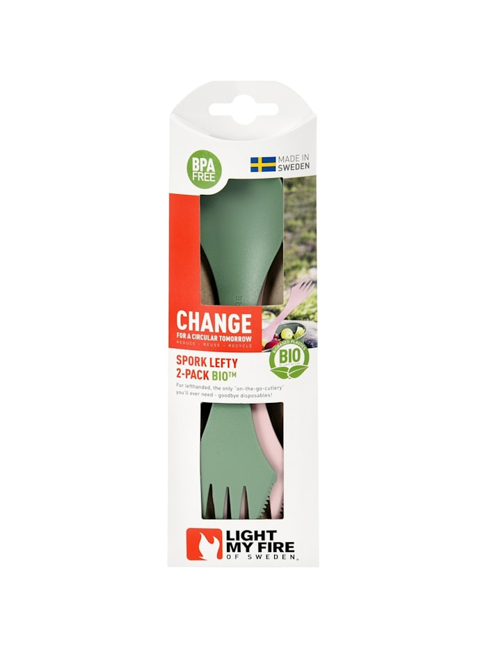 Besteck Spork lefty BIO 2er-Pack