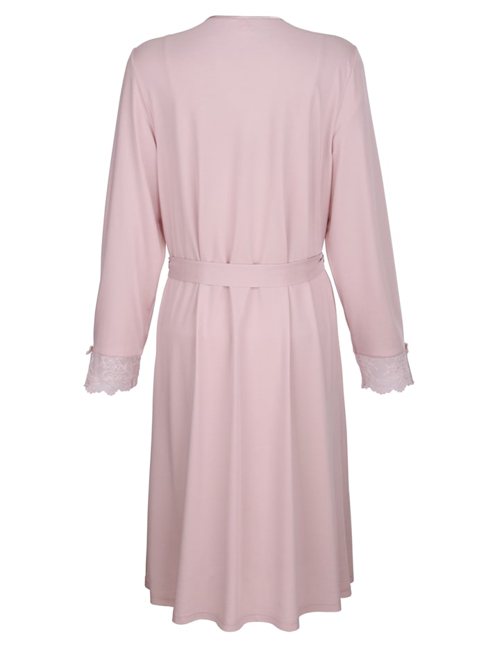 Dressing gown set with lace detailing Set