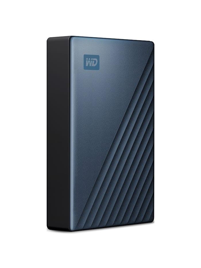 Western Digital Festplatte My Passport Ultra 5 TB, Blau