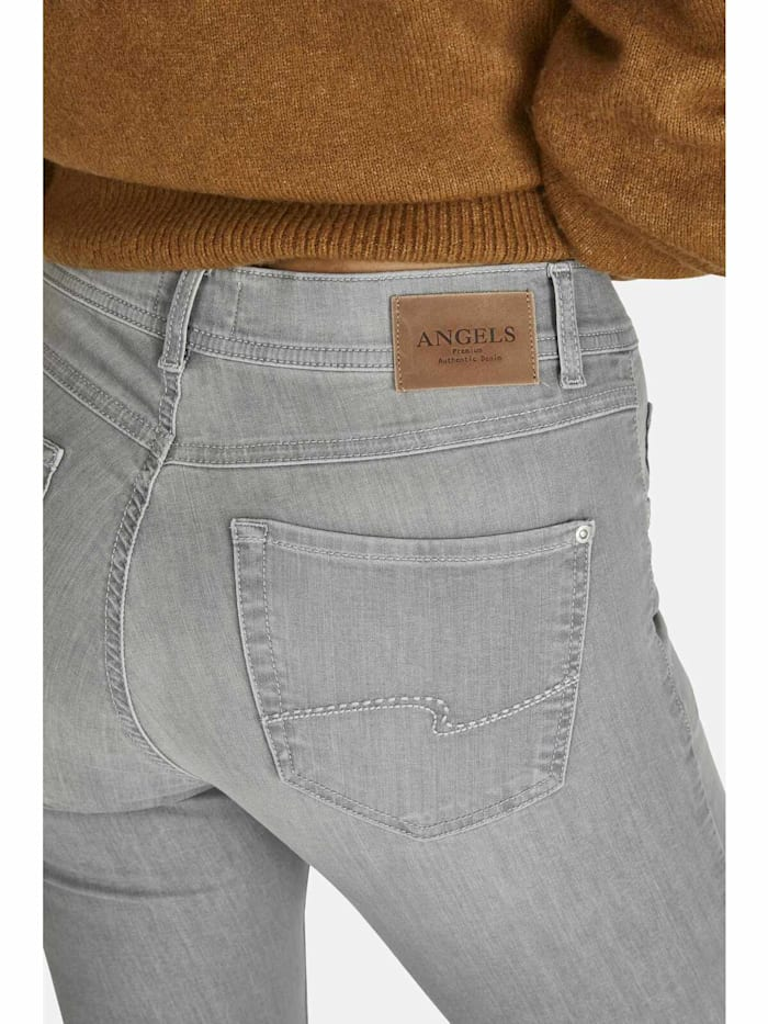 Ankle-Jeans 'Ornella' mit leichter Used-Waschung