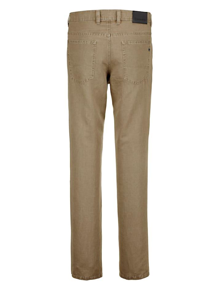 Pantalon en lin style sport très chic